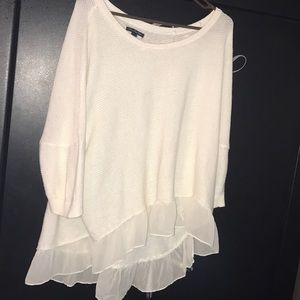 American Eagle high low sweater