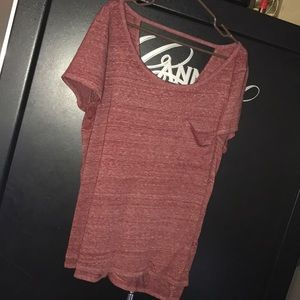 American Eagle back cutout tee
