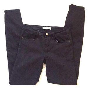 Zara jeans black sz 36