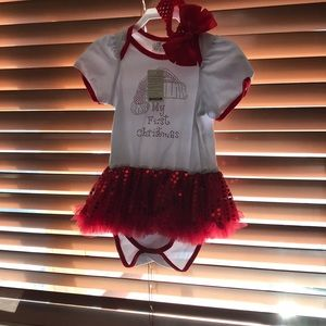 Other - Christmas Dress for girl 18 month