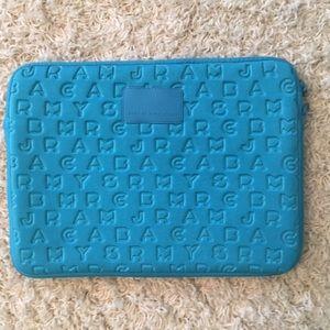 Marc by Marc Jacobs Blue laptop case
