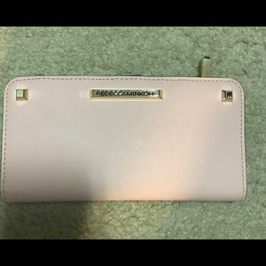 AUTHENTIC REBECCA MINKOFF LIGHT PINK WALLET