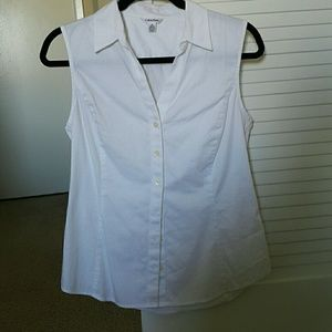 Calvin Klein White cotton shirt