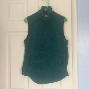 Emerald green old navy zippered vest