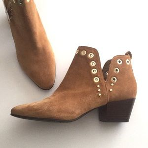 NEW Sam Edleman Suede Ankle Booties size 10