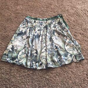 NWT Worthington a line print skirt. Fully lined.