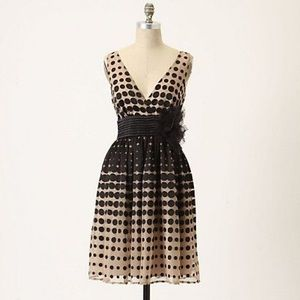 Anthropologie Optical Illusion Dress