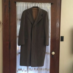 VINTAGE 1960s Wool Trench Coat
