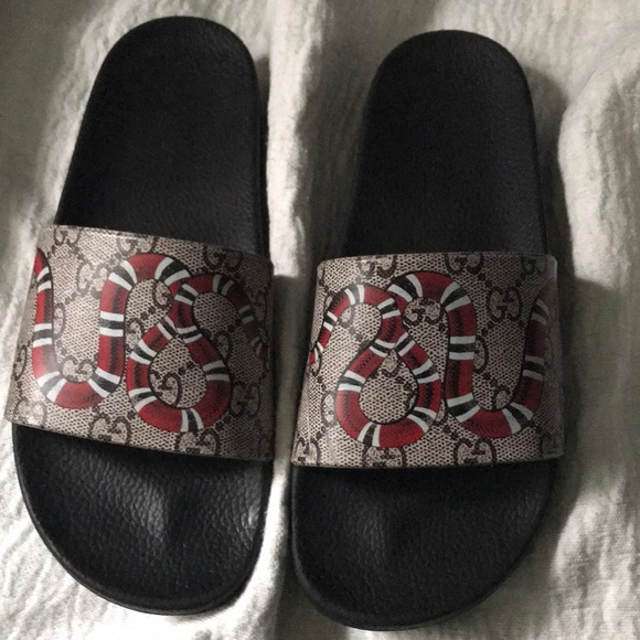 fd335d1733c Gucci Other - Authentic Gucci Snake Slides