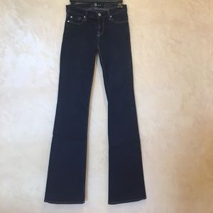 Skinny boot cut 7 for all mankind jeans 26