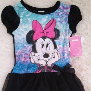 NWT Disney Minnie Mouse Size 5 Girls Dress
