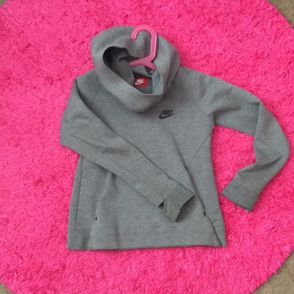 Nike gray girls sweater