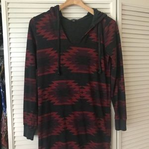 Threads 4 Thought Dresses - Threads 4 thought Aztec sweatshirt dress