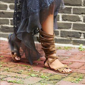 Jeffery Campbell Romana Fest Gladiator Sandals, 8