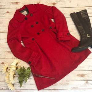 Old Navy Long Red Winter Coat