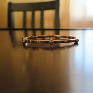 Henry Bendel rose gold bangle