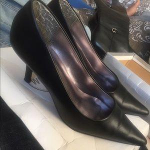Wild Diva black heels