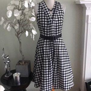 ANN TAYLOR PLATED  DRESS