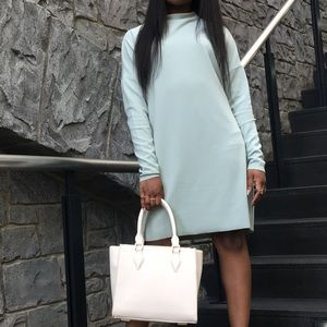 MISSGUIDED Curve neck sweater dress