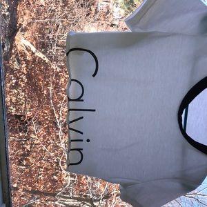 NWOT Calvin crop top