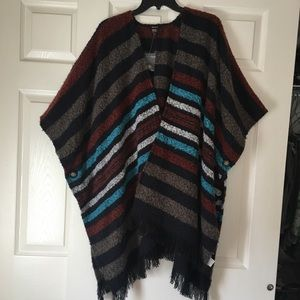 Forever 21, soft poncho, os fits all, Boho looking