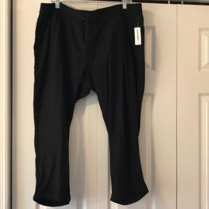 NWT Old Navy black pants