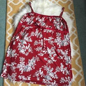 red gapbody nightgown size XL