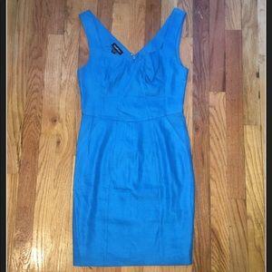Bebe Blue Linen Dress!