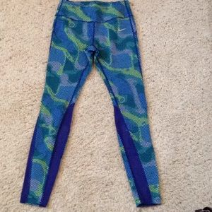 Nike Epic Lux Deep Royal Blue Running Tights
