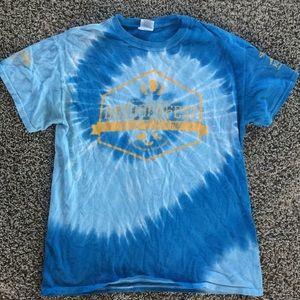 Tie-dye Octoberfest t-shirt