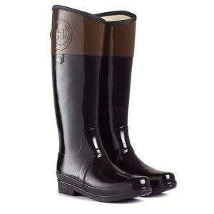 Hunter Regent Carlyle Rainboots with Dust Bag
