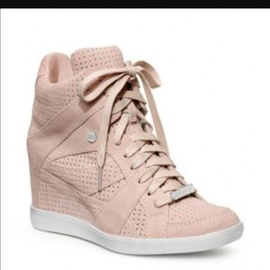 Coach Alexis Wedge Sneakers- 8.5
