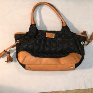 Kate Spade Quilted black purse