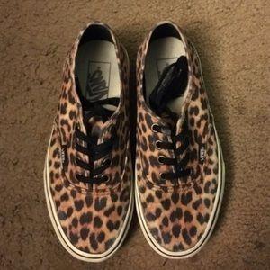 Cheetah Van Shoes