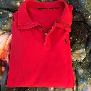 Polo Golf Ralph Lauren Red Sweater XL