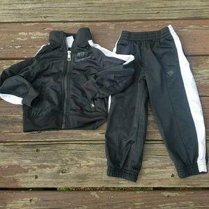 Little Boy Nike Track Suit