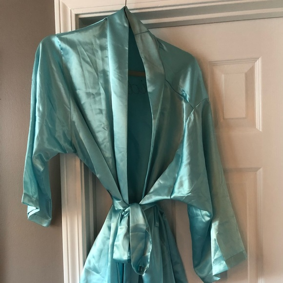 029e566df023 Tiffany Blue Bride Robe. M 5a1712dc4e8d17cee3034831
