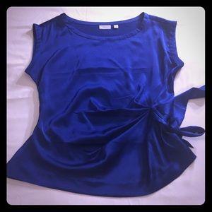 NWOT New York & Co Royal Blue Top Sz XL