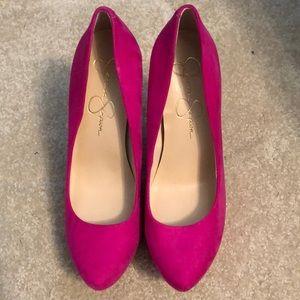 Hot Pink High Heels