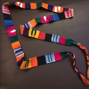 Handmade Guatemala belt