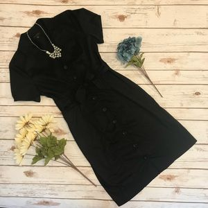 The Limited Black Mid Length Casual Dress