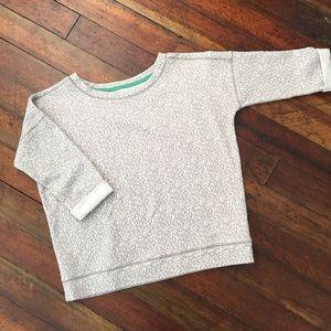 Lilka Gray Textured Pullover