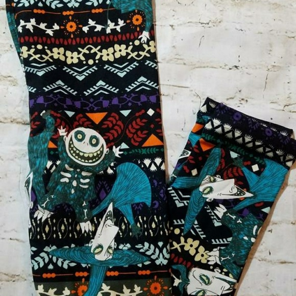 1d0f10237472a4 LuLaRoe Pants | Kids Nightmare Before Christmas Leggings | Poshmark