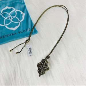 Kendra Scott Bronze Kathy Necklace