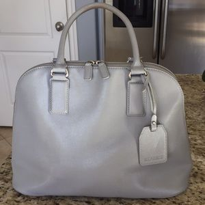 Grey Bowler Purse