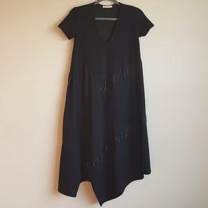 Zara Trafaluc Flowy Asymmetrical Dress