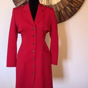 Vintage Red Topcoat