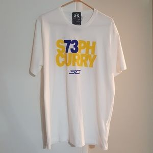 Steph Curry 73 Under Armour T SHIRT