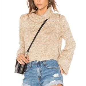 NWT mink Pink turtleneck sweater