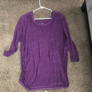 Lane Bryant purple blouse plus size 18/20 2X